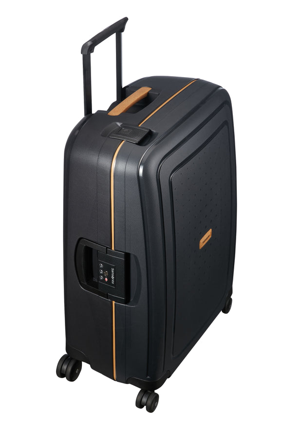 Samsonite S'Cure ECO Spinner 75cm Black - London Luggage