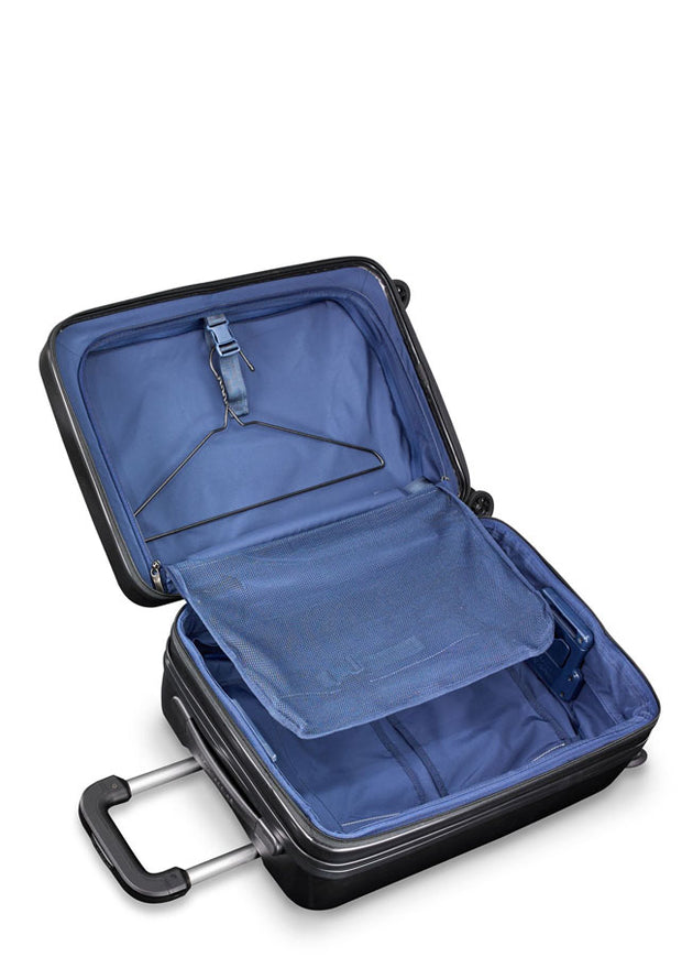 Sympatico International Carry-On Expandable Spinner Black