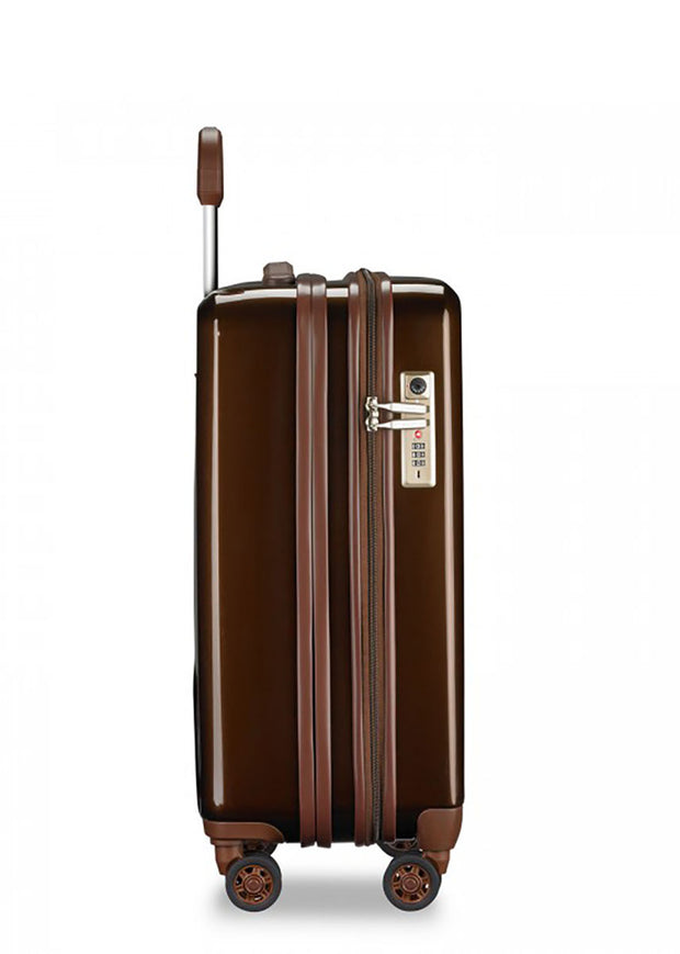 Briggs & Riley Sympatico Domestic Carry-On Expandable Spinner - Bronze - London Luggage