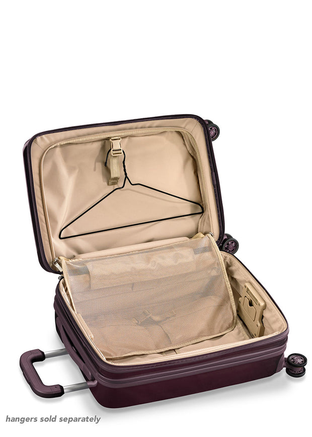 Briggs & Riley Sympatico Domestic Carry-On Expandable Spinner - Plum - London Luggage