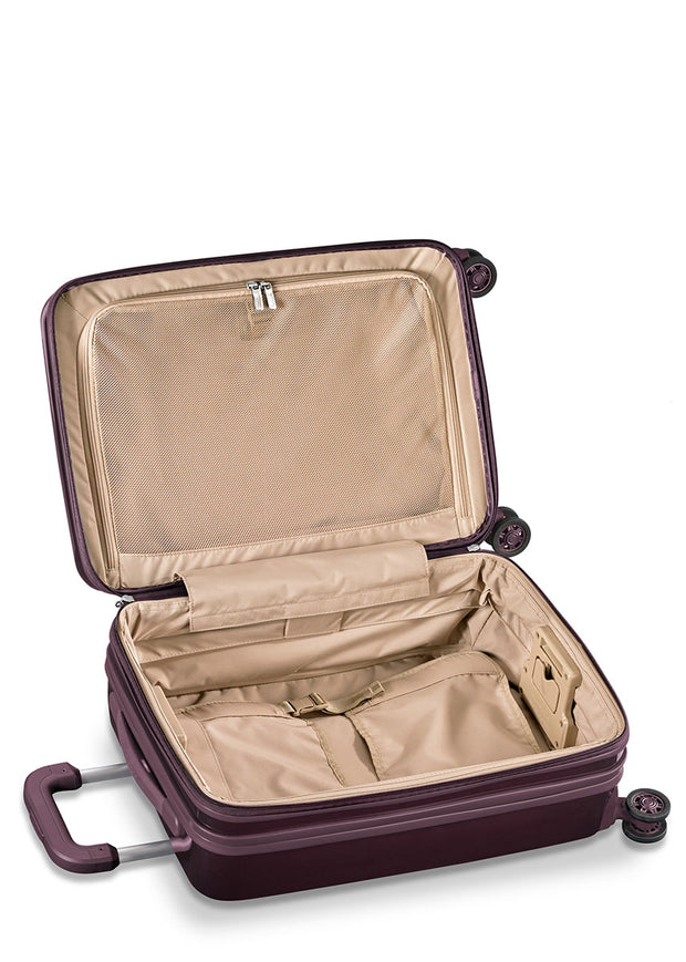 Sympatico Domestic Carry-On Expandable Spinner - Plum