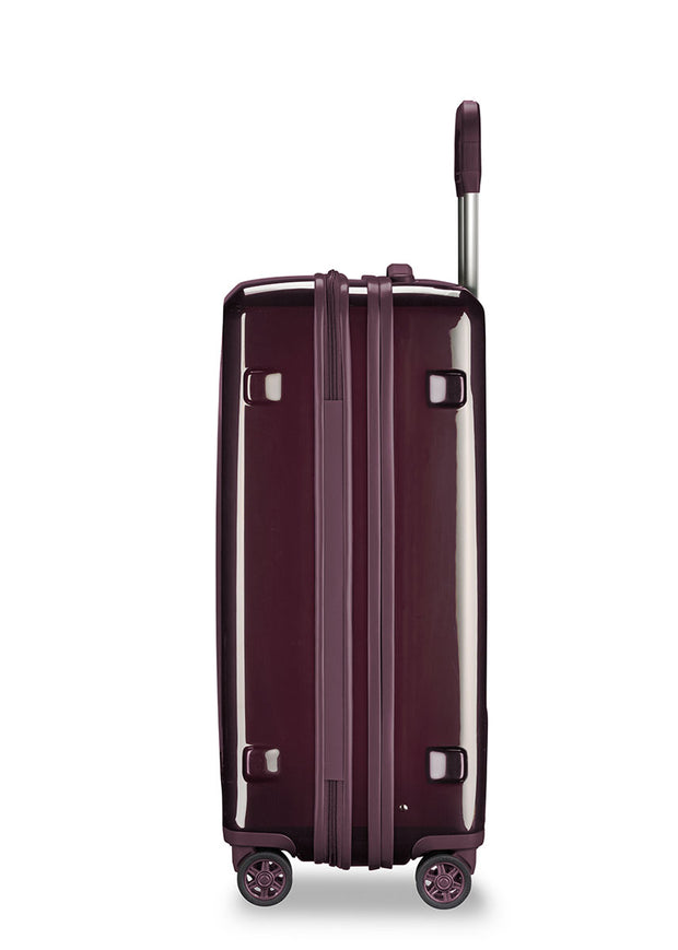 Briggs & Riley Sympatico Medium Expandable Spinner - Plum - London Luggage