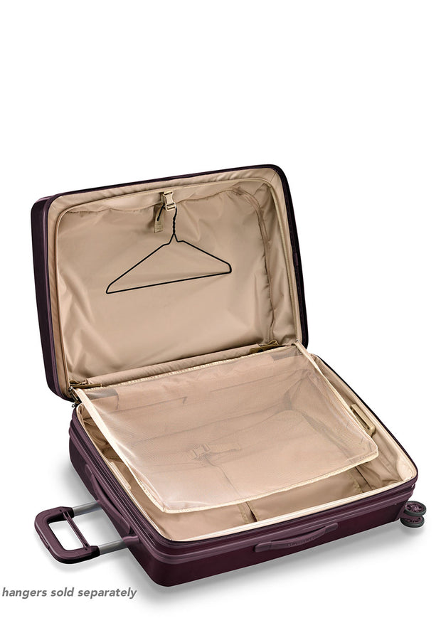 Briggs & Riley Sympatico Large Expandable Spinner - Plum - London Luggage