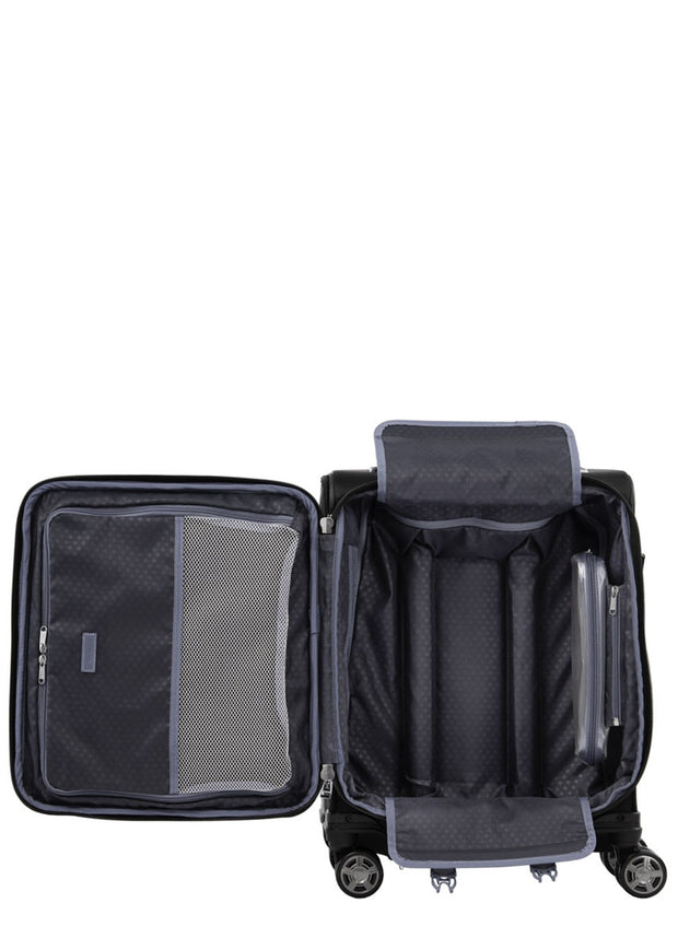 Travelpro Platinum Elite 55cm Expandable Spinner Black - London Luggage