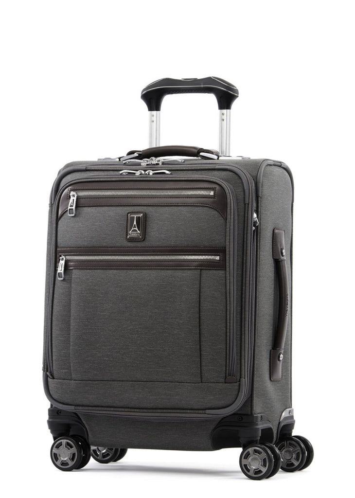 Travelpro Platinum Elite 55cm Expandable Spinner Vintage Grey - London Luggage