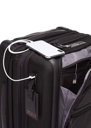 Tumi Alpha 3 International Expandable 4 Wheeled Carry-On - London Luggage