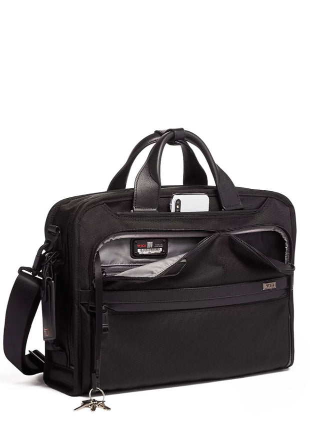 Tumi Alpha 3 Slim Three Way Brief - London Luggage