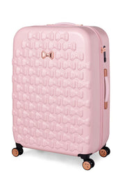 Ted Baker Beau 4 Wheel Large Case Pink - London Luggage