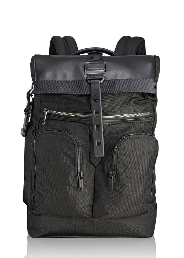 Tumi Alpha Bravo London Roll Top Backpack - London Luggage