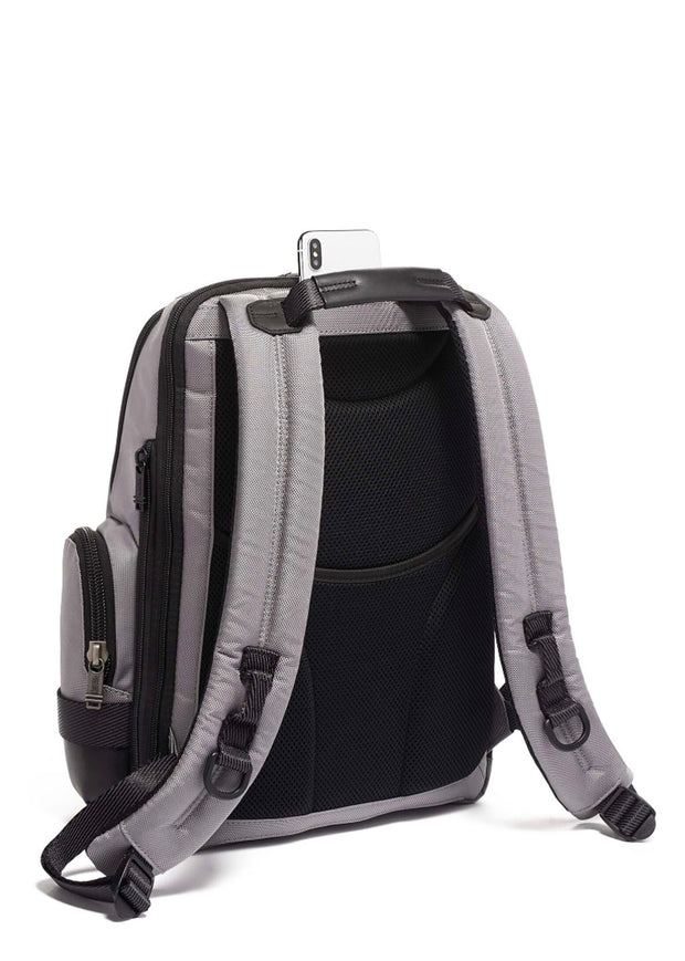 Tumi Alpha Bravo Nathan Backpack- Recycled - London Luggage