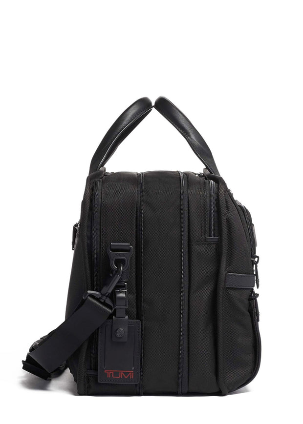 Tumi Alpha 3 Expandable Organiser Laptop Brief - London Luggage