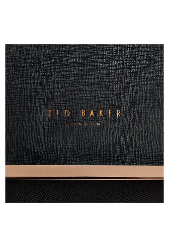 Ted Baker Albany 4 Wheel Cabin Trolley Black - London Luggage