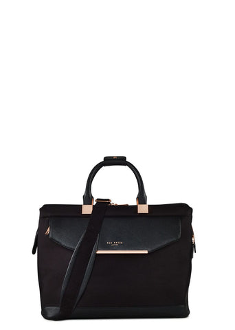 Ted Baker Albany Small Clipper Holdall Black - London Luggage