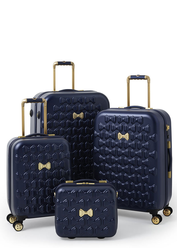 Ted Baker Beau Vanity Case Navy - London Luggage