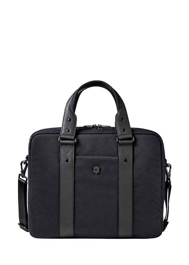 "Victorinox Architecture Urban Bodmer 14"" Laptop Briefcase - London Luggage"