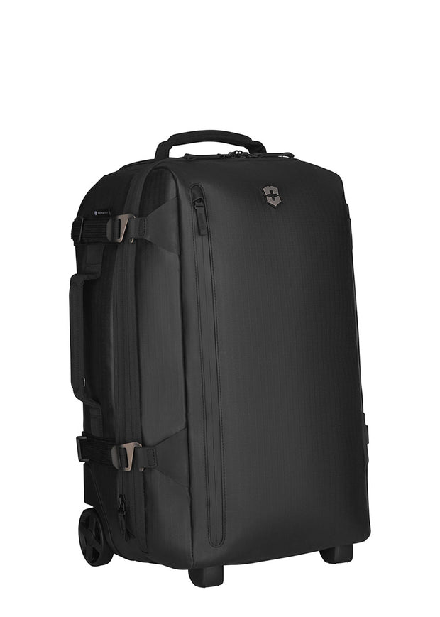 Victorinox Vx Touring Wheeled 2-in-1 Carry-On Coated Black - London Luggage