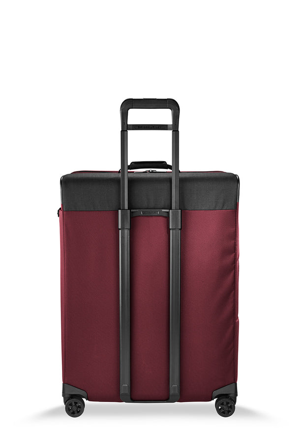 Briggs & Riley Transcend Large Expandable Spinner Merlot - London Luggage