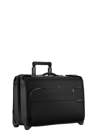 Briggs & Riley Baseline Carry-On Wheeled Garment Bag - London Luggage