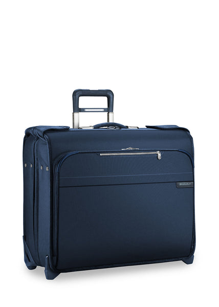 Briggs & Riley Baseline Deluxe Wheeled Garment Bag + Free B&R Toiletry kit! - London Luggage