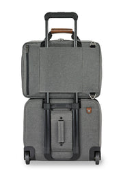 Briggs & Riley Kinzie Street Convertible Brief Grey - London Luggage