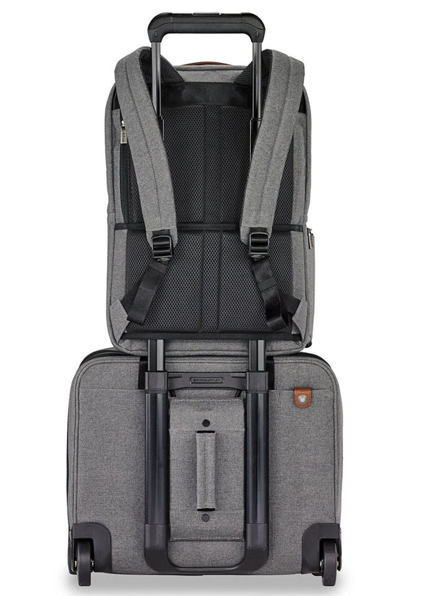 Briggs & Riley Kinzie Street Medium Backpack Grey - London Luggage