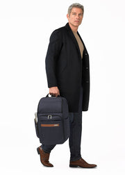 Briggs & Riley Kinzie Street Large Backpack Navy - London Luggage