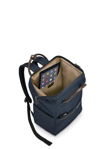 Kinzie Street Framed Wide-Mouth Backpack