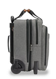 Briggs & Riley Kinzie Street Medium Expandable Rolling Brief Grey - London Luggage