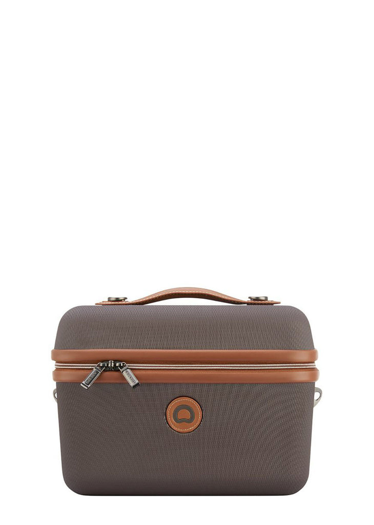 Delsey Chatelet Air Tote beauty case Chocolate - London Luggage