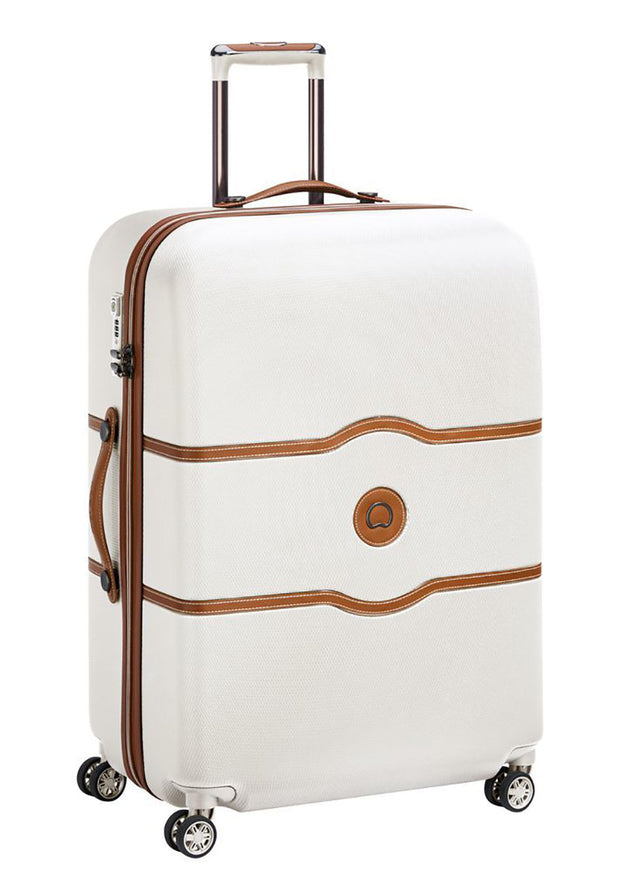 Delsey Chatelet Air 77cm 4 double wheels trolley case Angora - London Luggage