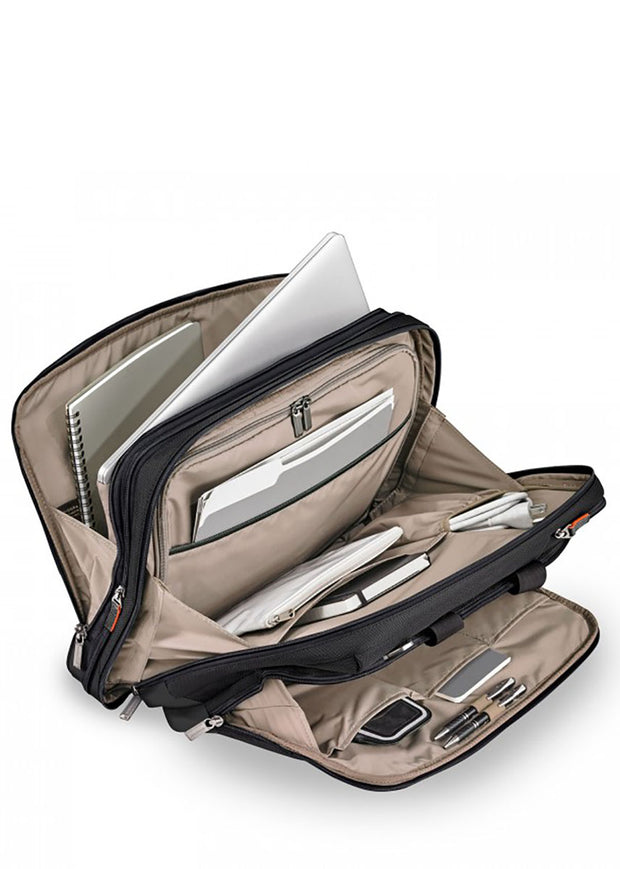 Briggs & Riley @Work Large Expandable Brief - London Luggage