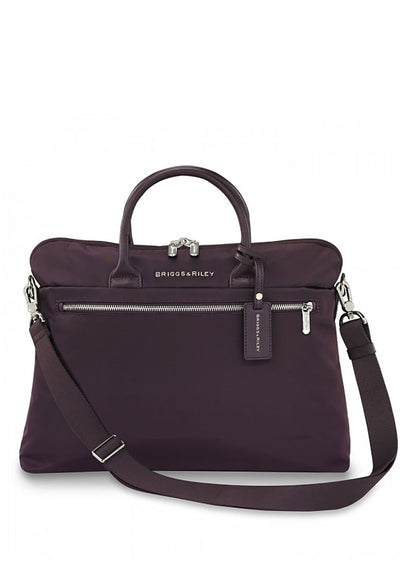 Briggs & Riley Rhapsody Slim Business Briefcase - London Luggage