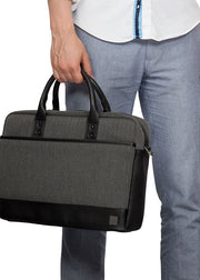 "Knomo Princeton Laptop Briefcase 15.6"" - London Luggage"