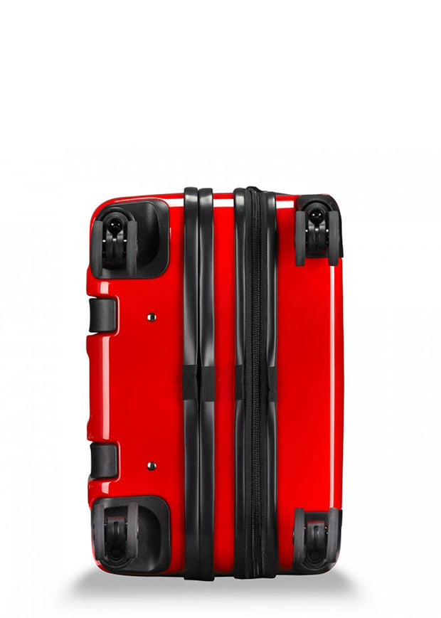 Briggs & Riley Sympatico Domestic Carry-On Expandable Spinner - Fire Red - London Luggage