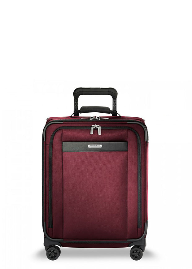 Transcend Wide-Carry-On Expandable Spinner Merlot