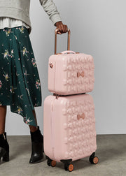 Ted Baker Beau Vanity Case Pink - London Luggage