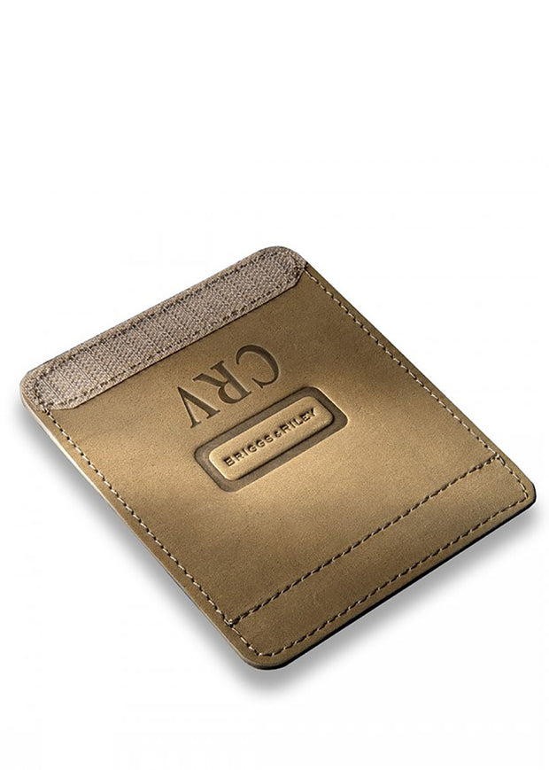 Tan/Olive Suede Outsider Handle Wrap - FREE MONOGRAMMING (Add Letters in Notes/Special Instructions)
