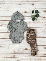 Woodland Creatures Hooded Bodysuit