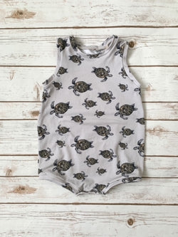 Turtle Summer Tank Romper
