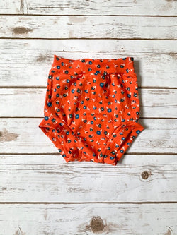 High-Waisted Bummies - Poppy Floral