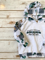 Plaid Forest Hoodie