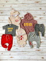 Iowa State Hooded Bodysuit