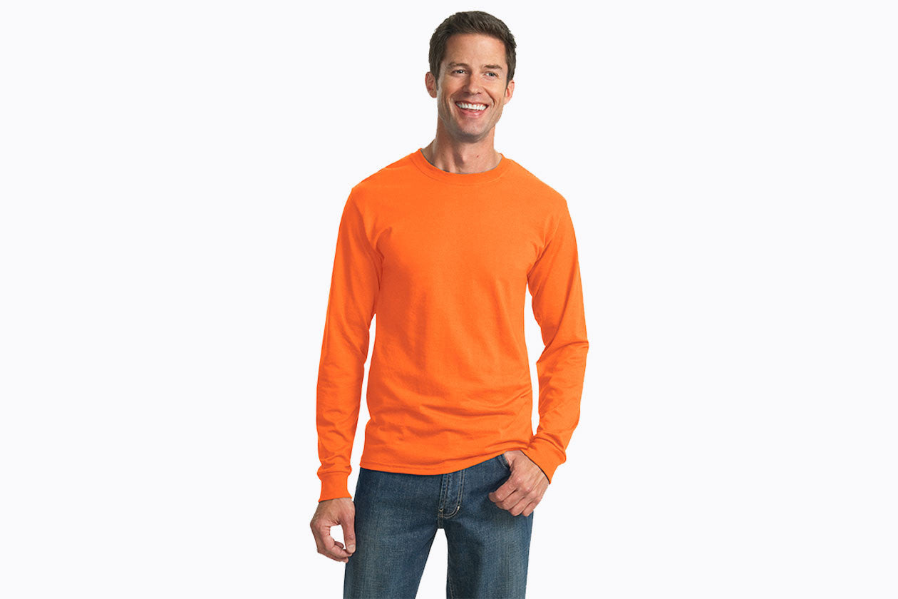 JERZEES Dri-Power 50/50 Cotton/Poly Long Sleeve T-Shirt. 29LS - WUE INC