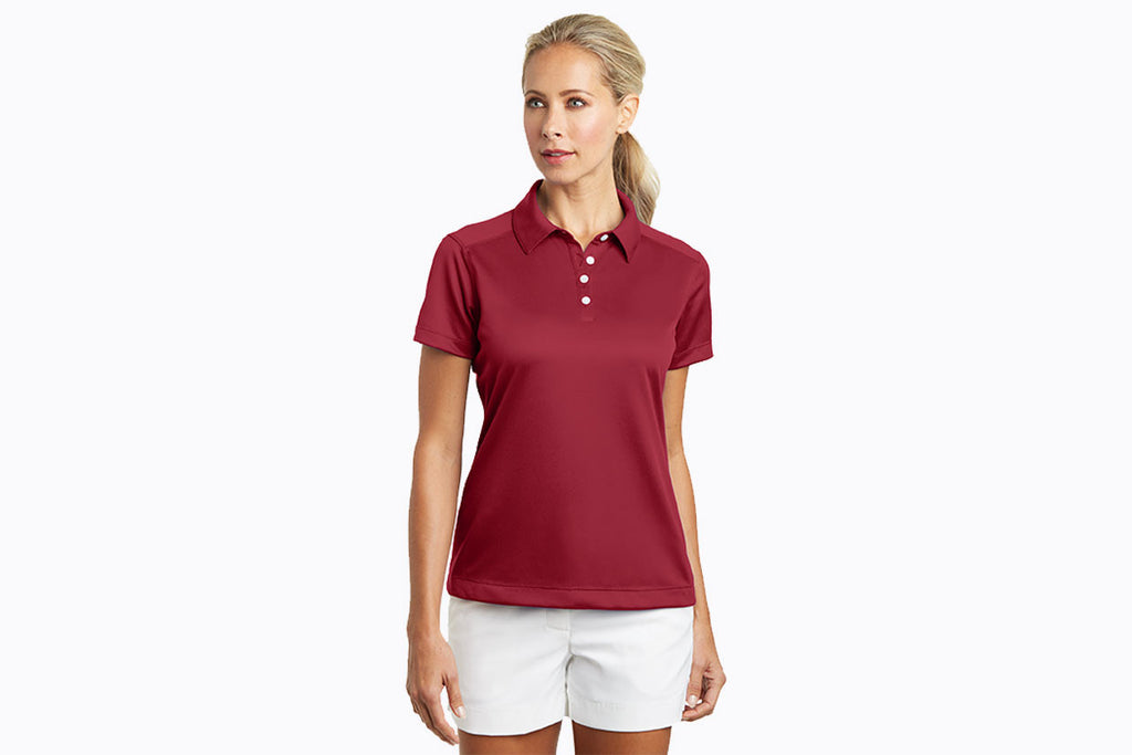 Nike Golf - Ladies Dri-FIT Pebble Texture Polo. 354064 - WUE INC