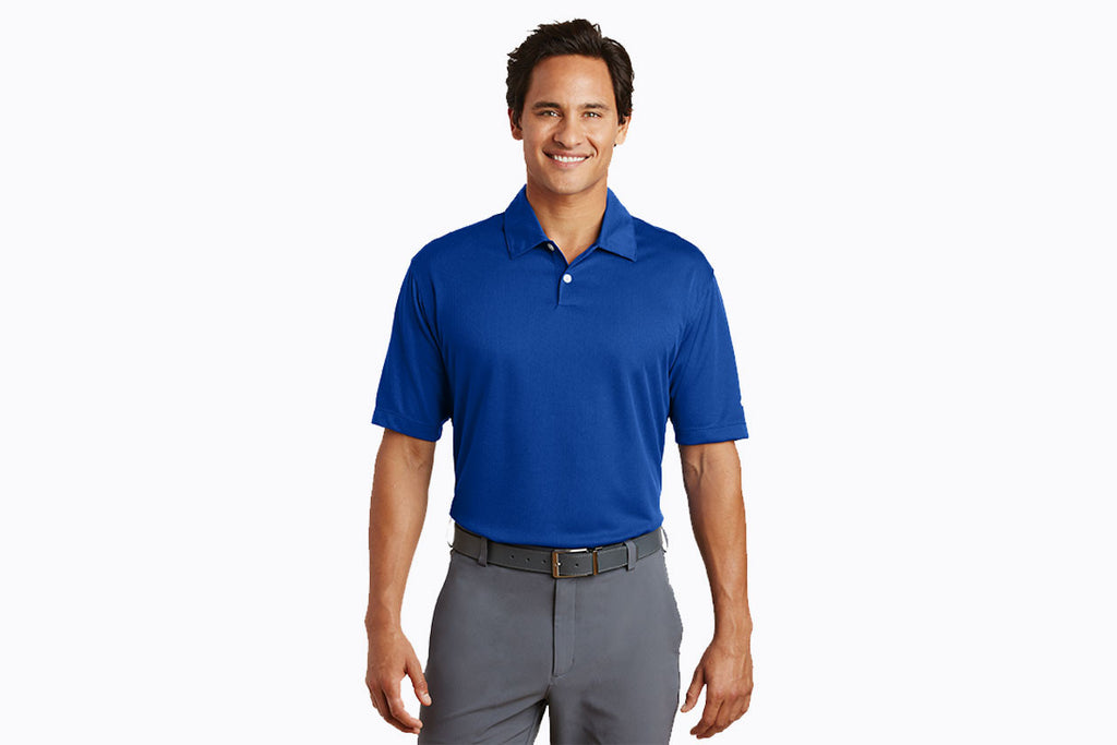 Nike Golf - Dri-FIT Pebble Texture Polo. 373749 - WUE INC
