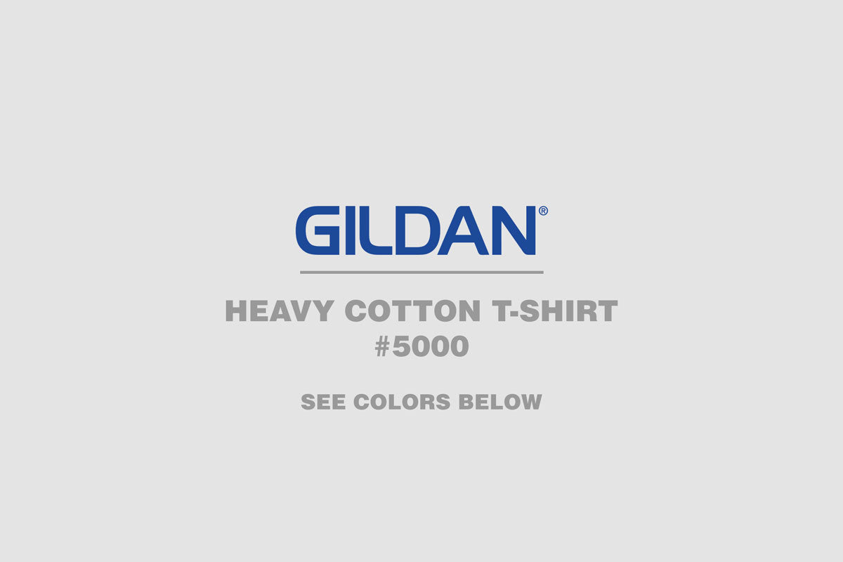 Gildan Heavy Cotton T-Shirt 5000q - WUE INC