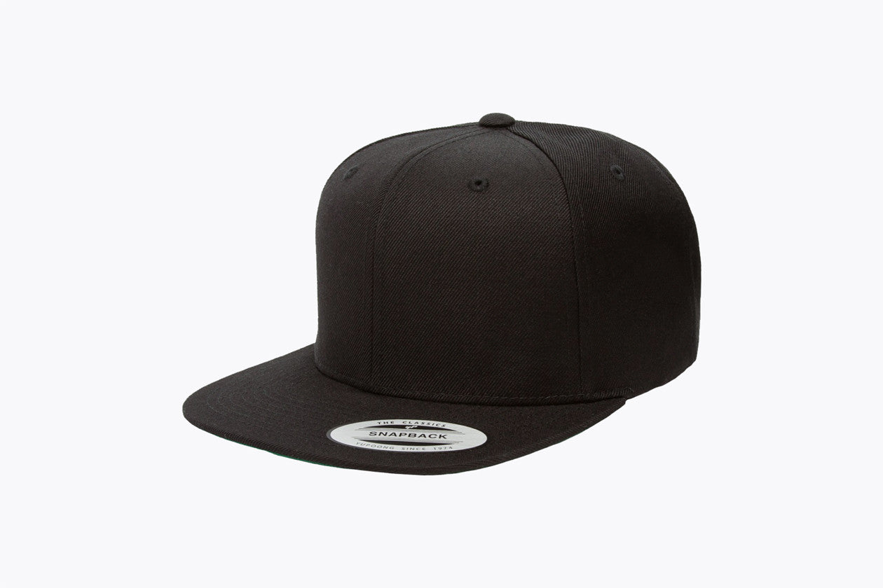 Yupoong 6-Panel Structured Flat Visor Classic Snapback. 6089 - WUE INC
