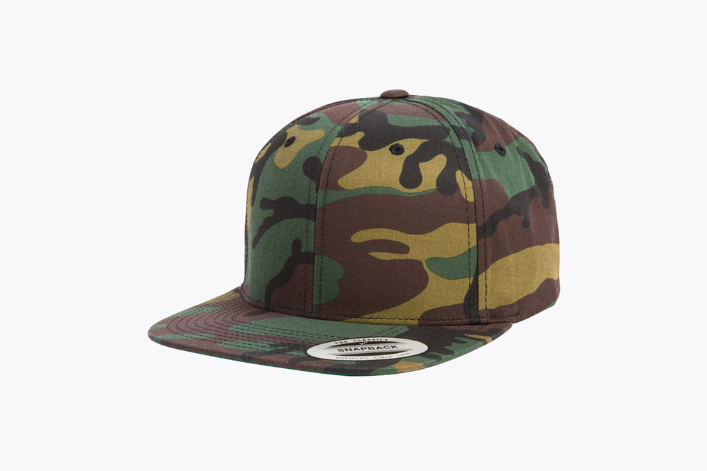 Yupoong 6-Panel Structured Flat Visor Classic Snapback. 6089C - WUE INC