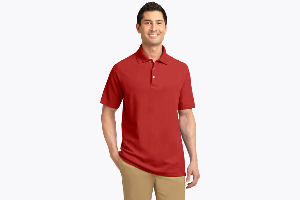 Port Authority EZCotton Pique Polo. K800 - WUE INC