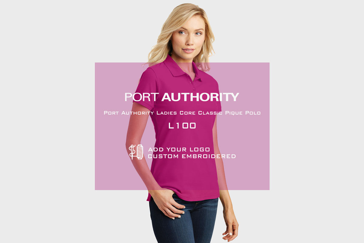 Port Authority Core Pique Polo L100 - WUE INC